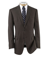 Traveler Traditional Fit 2-Button Plain Front Suit- Big & Tall Sizes