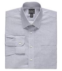 Traveler Slim Fit Long-Sleeve Spread Collar Dress Shirt