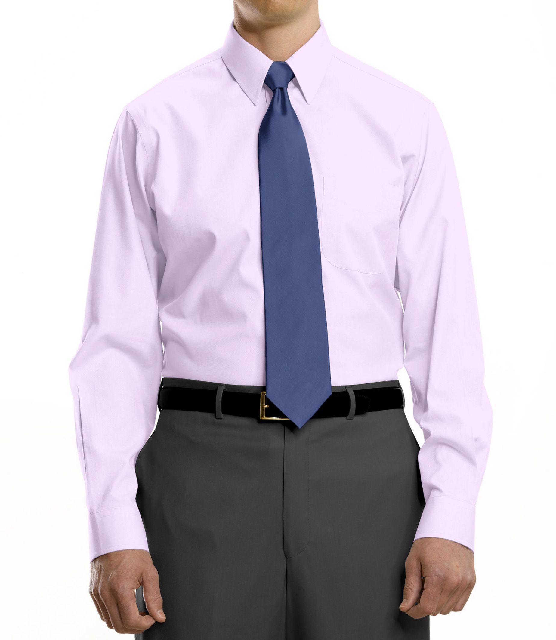 Point Collar Dress Shirt