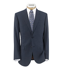 Joseph Slim Fit 2 Button Peak Lapel Plain Front Wool Suit