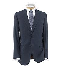 Joseph Slim Fit 2 Button Peak Lapel Plain Front Wool Suit Extended Sizes