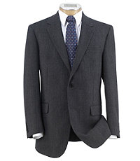 Executive 2 Button Fleece Rich Sportcoat- Extended Sizes