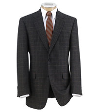 Executive 2 Button Fleece Rich Sportcoat Extended Sizes