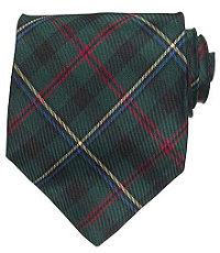 Executive Tartan Extra Long Tie