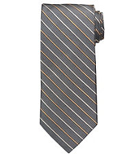 Signature Thin Stripe Long Tie