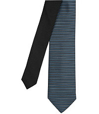 Joseph Slim Satin Stripe Tie