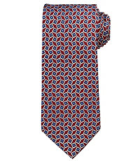 Executive Tossed Squares Long Tie