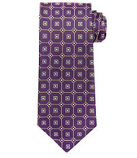 Executive Textured Grid Tie