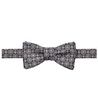 Executive Printed Florettes Bow Tie