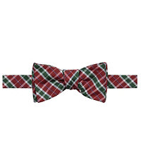 Executive Plaid Bow Tie