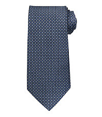 Signature Dotted Micro Long Tie