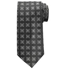 Signature Squares Long Tie
