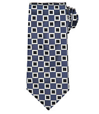 Signature Allover Squares Tie