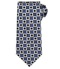 Signature Allover Squares Tie $79.50 AT vintagedancer.com