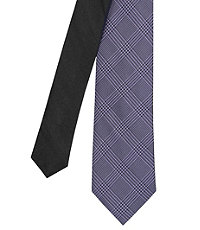 Joseph Slim Tonal Glen Plaid Tie