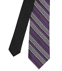 Joseph Slim Triple Stripe Tie