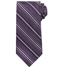 Signature Stripe Long Tie