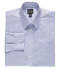 Traveler Slim Fit Long-Sleeve Point Collar Dress Shirt