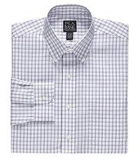 Traveler Slim Fit Long-Sleeve Buttondown Collar Dress Shirt