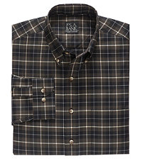 Traveler Long Sleeve Large Check Buttondown Sportshirt