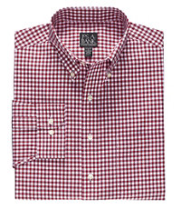Traveler Long Sleeve Medium Gingham Buttondown Sportshirt