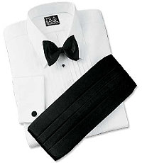Traditional Formal Point Collar Dress Shirt Big or Tall