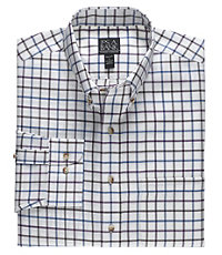 Long Sleeve Traveler Pattern Buttondown Big or Tall Fit