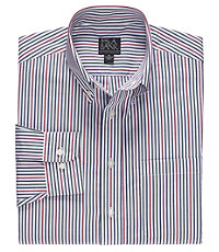 Long Sleeve Executive Sportshirt Buttondown Multi Stripe