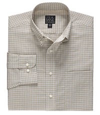 Executive Long Sleeve Buttondown Sportshirt Small Check