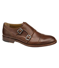 Clayton Double Buckle Shoe by Johnston & Murphy