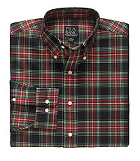 Traveler Buttondown Tartan Long Sleeve Sportshirt