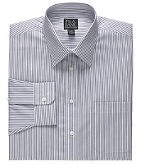 Executive Tailored Fit Spread Collar Bengal Stripe Dress Shirt