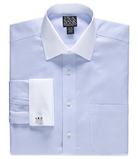 Signature Spread Collar, French Cuff Dress Shirt