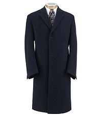 Heathered Merino Topcoat Extended Sizes