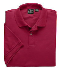 Traveler Short-Sleeve Solid Polo