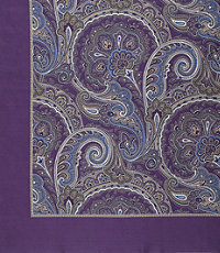 Pocket Squares Paisley with no Border