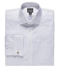 Signature Spread Collar French Cuff Dress Shirt