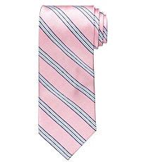 Executive Triple Repp Stripe Long Tie
