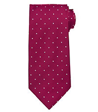 Executive with White Dots Long Tie