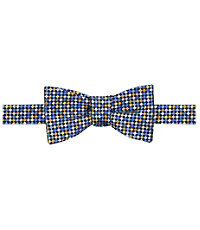 Multicolor Squares Bow Tie