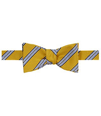 Executive Triple Stripe Bow Tie