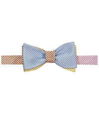 Executive Seersucker Stripe Bowtie