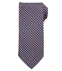 Signature Navy Grid Tie