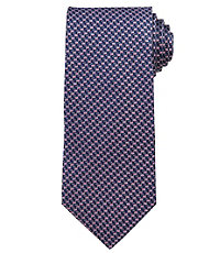 Signature Navy Micro Chevrons Tie