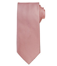 Signature Textured Solid Long Tie