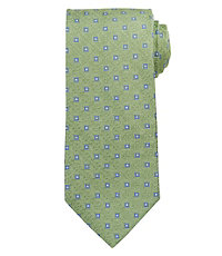 Signature Satin Neat Long Tie