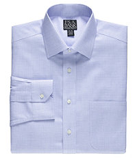 Signature Spread Collar Patterned Dress Shirt Big or Tall