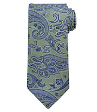 Signature Large Satin Paisley Tie