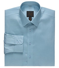 Joseph Spread Collar Slim Fit Ottoman Dress Shirt.