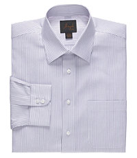 Joseph Varigated Stripe Tailored Fit Cotton Dress Shirt
